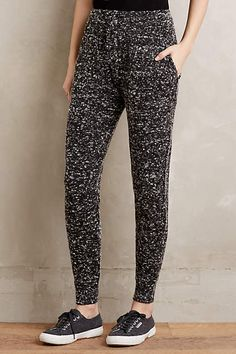 Marled Knit Joggers - anthropologie.com