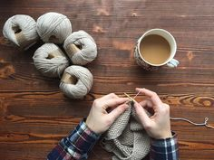 raincloud & sage: knitting project queue