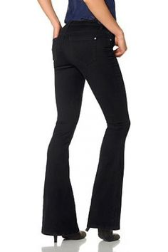 Flared-jeans super-stretch met draagcomfort