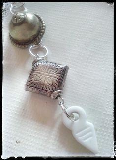 """""""Turkoman Button"""" pendant by Zuzka´s pendant"""
