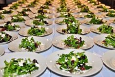 Medjool Date and Mixed Green Salad with Feta Cheese, Toasted Marcona Almonds, Pomegranate Molassas and Honey Dressing   Feeding the masses at our African themed event at the Natural History Museum, Los Angeles
