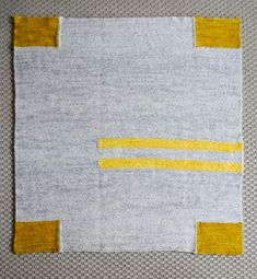 Whit's Knits: Four Corners Baby Blanket