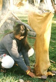 Tanning Hides for Buckskin and Fur: a wetscrape method for brain tanning goat and sheep hides