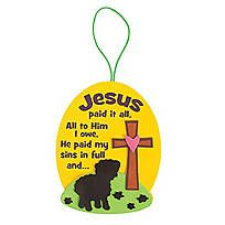 """""""I Love Jesus, Jesus Loves Me"""" Cross Craft Kit. Cross your heart with the spirit of Jesus during Sunday School or VBS with this """"I Love ..."""