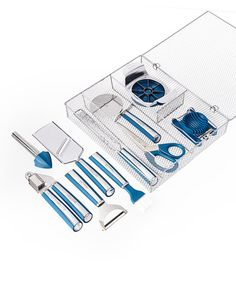 Another great find on #zulily! Blue 11-Piece Complete Kitchen Tool Kit #zulilyfinds