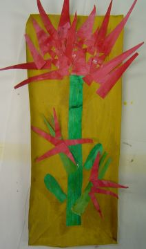 Week 9- 1/20/16- American Indian Legends and Symbols (The Legend of the Indian Paintbrush paper craft
