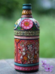 Buy Pattachitra Bottle • The Color Caravan