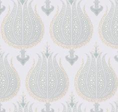 ~Thibaut - Anna French, Aleria fabric in aqua