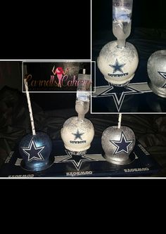 Dallas Cowboys candy apples, blind apples