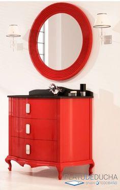 Mueble de baño Venecia con inspiración clásica con diferentes acabados disponibles Buffet, Cabinet, Storage, Furniture, Home Decor, Venice, Bathroom Furniture, Style, Clothes Stand