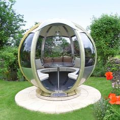 The great outdoors: Farmer's cottage rotating sphere seater #johnlewis #garden