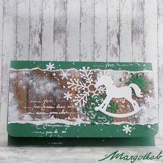 Vánoční+dárková+obálka+konik+Dárková+obálka+na+peníze+nebo+poukázky.