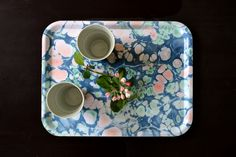 Our serving tray 'Spring Blossom' available at studioformata.se