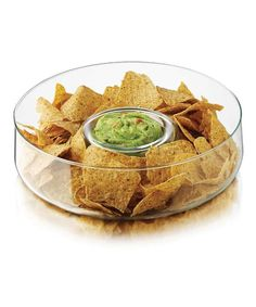 Eco-friendly serveware- Chip and Dip Bowl
