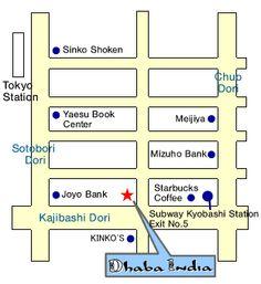 Dhaba India Map