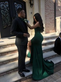 Sexy 2019 V Neck Prom Dresses,Side Slit Prom Dress,Plus Size Evening Gown,Gala Dress sold by KProm. Shop more products from KProm on Storenvy, the home of independent small businesses all over the world. Prom Girl Dresses, V Neck Prom Dresses, Prom Outfits, Black Prom Dresses, Homecoming Dresses, Long Dresses, Dress Long, Prom Pictures Couples, Prom Couples