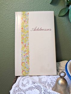 Address book, 1982 EVE Lights advertising premium, unused by EKRdoodleVintage on Etsy