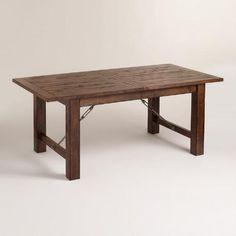 WorldMarket.com: Wood Garner Extension Dining Table