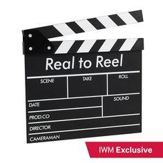 Real to Reel clapper board Ibm, Warfare, Tech Companies, Boards, Company Logo, Planks