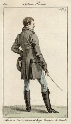 Men's outfit, 1811.