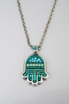 Arabic lucky talisman Chamsa  Pewter Chamsa by NoyJewelry on Etsy, $48.00