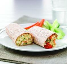 Using hard cooked eggs in sandwiches adds protein and a creamy texture to this filling.