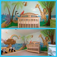 Noah's ark theme! Love it!