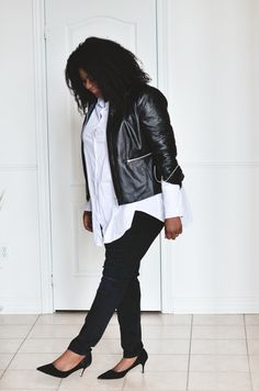 Minimalist Style (Plus Size) see more on mycurvesandcurls.com