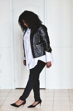 Minimalist Style (Plus Size) see more on mycurvesandcurls.com