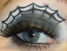 Halloween Spider Web Eyes