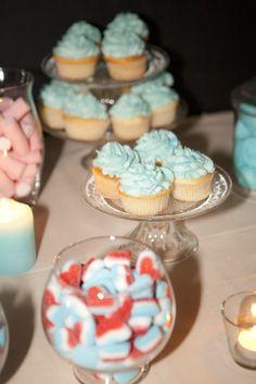 Candy bar cupcakes boda