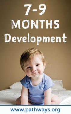 Look out! If baby hasn't started crawling yet they will be soon. Keep a close eye on baby to make sure they stay safe while exploring. Check out more development info for baby at 7-9 months