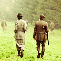 Downton...they were best friends more than anything