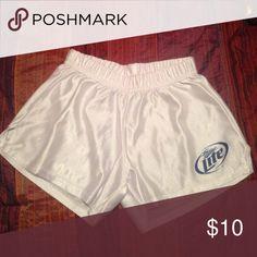NEW- Unworn- Miller Lite Shorts New Miller Lite Shorts