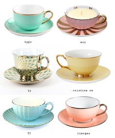 Pretty tea cups » Eat Drink Chic