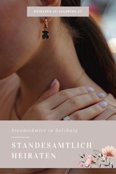 Wir wollen euch die Suche nach dem richtigen Standesamt erleichtern und haben euch dafür eine Liste aller Standesämter in Stadt und Land Salzburg erstellt. Diamond Earrings, Jewelry, Searching, Wedding, Jewlery, Jewerly, Schmuck, Jewels, Jewelery