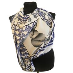 """""""Once upon a time"""" Scarf.  www.johannafleming.co.uk"""