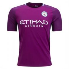 2017 Player Version Jersey Man City Away Purple Shirt 2017 Player Version  Jersey Man City Away Purple Shirt  cf8a75fac267e