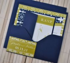 wedding invite? This is simple yet modern and elegant
