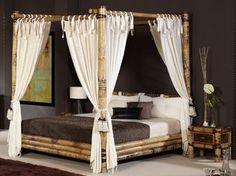 Jolies Variantes Pas Cher Pour Un Meuble En Bambou Room Dividers - Lit baldaquin bambou ikea