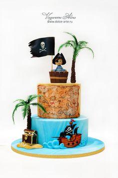 pirate cake by Alina Vaganova
