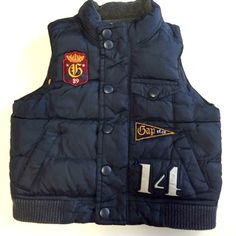This Gap puffer vest only needs your cutie with some hot cocoa to fill it! Find it in @mountainwriter's closet. http://totspot.me/feed