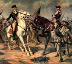 Battle of Monmouth: Washington and General Charles Lee