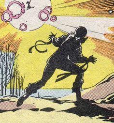Psylocke - Art by Jackson Guice & Steve Leiloha (1987).