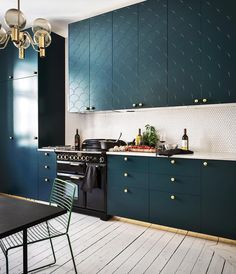 Dark Slate Gray kitchen