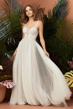 16947aa37e2c Wtoo and Willowby - bellissima bride Sheer Wedding Dress, Dream Wedding  Dresses, Wedding Gowns