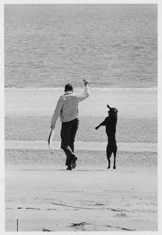 Elliott Erwitt - Long Island, New York, 1962 love this photographer. my dog would totally do this. Elliott Erwitt Photography, Dog Photography, Street Photography, Artistic Photography, Documentary Photographers, Famous Photographers, Long Island, Magnum Photos, Mans Best Friend