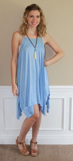 Take my Breath Away, Sky blue dress!  fashion, style, ootd, lotd, summer, dress, cute, trendy, online, boutique, inspiration