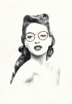 Montures by Nabil Nezzar #pencil #illustration