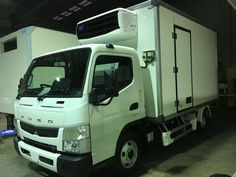 New BBCQ3800S body on a Fuso 615 heading to Sydney work work.